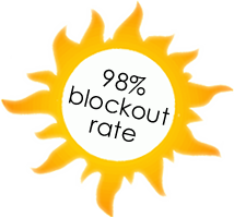 98% blockout rate